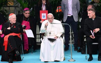 La primera visita del Papa Francisco como pontífice a la ciudad italiana...