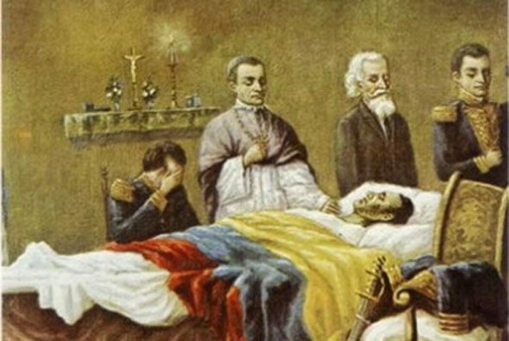 Según el gobierno, querían verificar las causas de la muerte de Bolívar,...