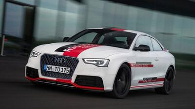 Audi está pensando en producir una versión diesel del RS5 que también ut...