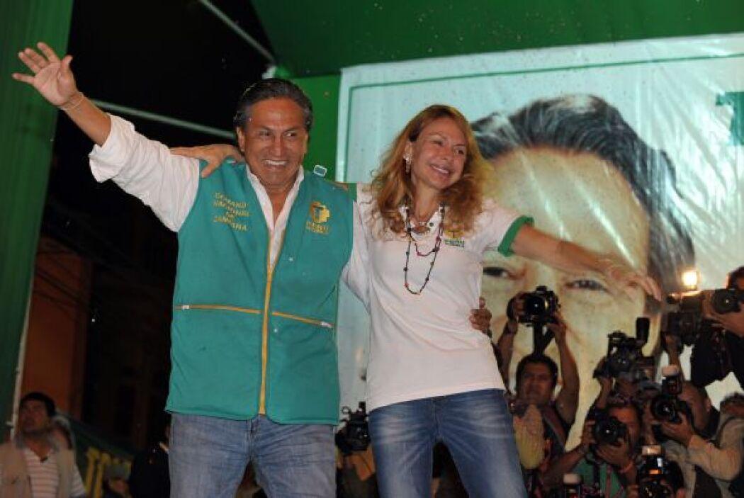 Toledo es el típico peruano de origen indio que ha logrado éxito, dentro...