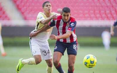 El primer round del Clásico Sub 20 es para las Chivas