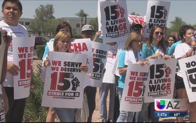 Activistas luchan para que no se anulé el aumento salarial en el estado