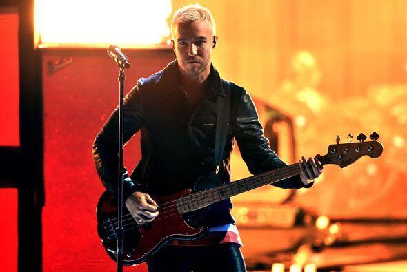 Pete Wentz, bajista de la agrupación.