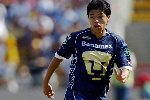 Gonzalo Pineda fue uno de los jugadores que brilló con los Pumas,...