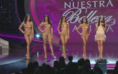 Último desfile en bikini de las finalistas de Nuestra Belleza Latina 2012