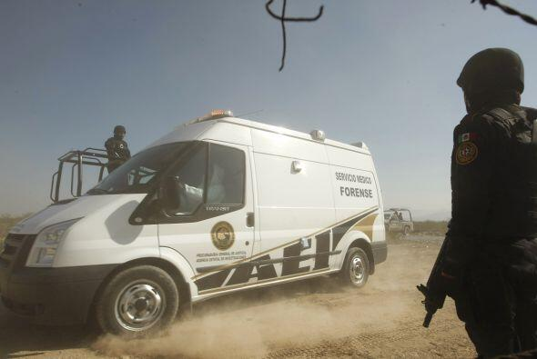 En el mes de enero autoridades mexicanas confirmaron el hallazgo de 17 c...