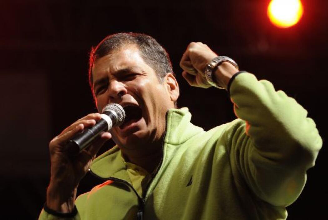 La filtración de WikiLeaks afirma que el presidente Rafael Correa nombró...