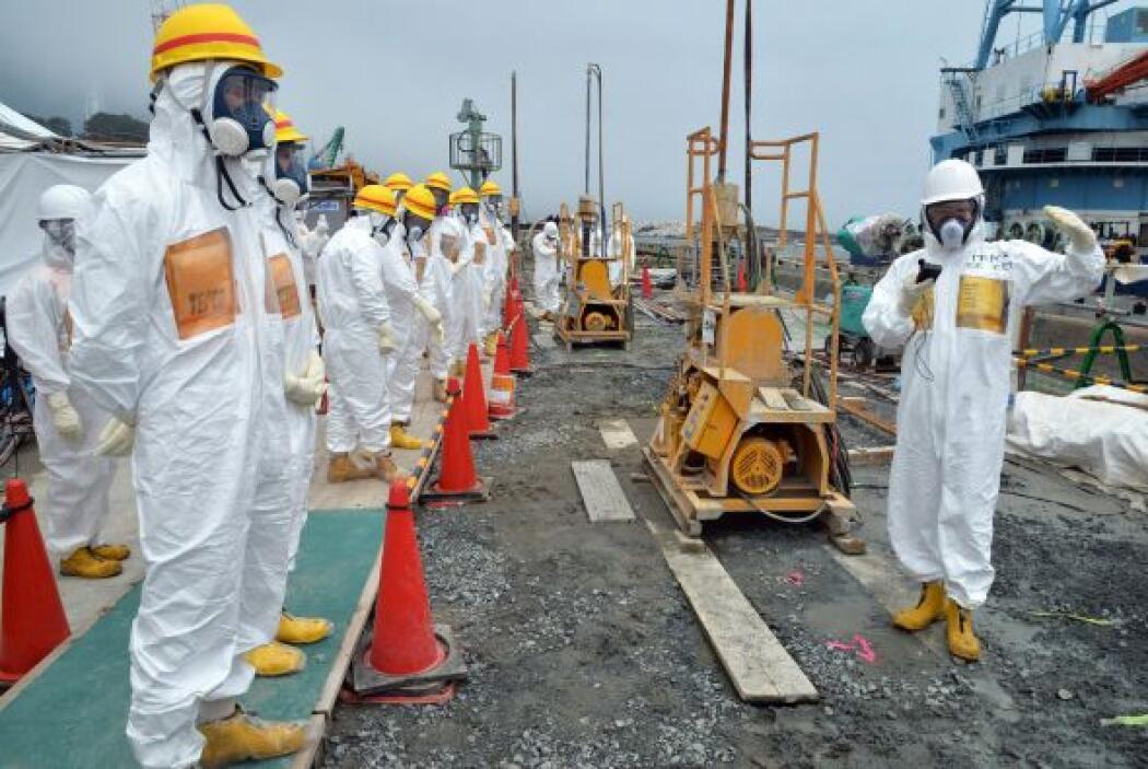 El Gobierno de Japón informó que la accidentada central nuclear de Fukus...