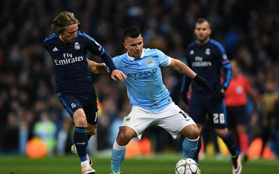 Real Madrid y Manchester City pelean por estar en la final de la Champions.