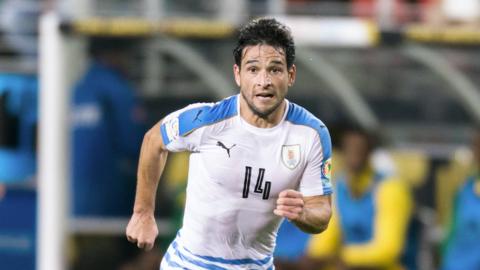 Nicolás Lodeiro, selección de Uruguay