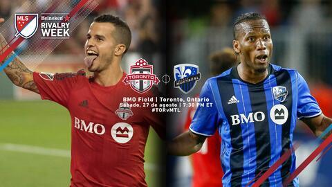 Canadá se divide en dos, Toronto FC vs Montréal Impact