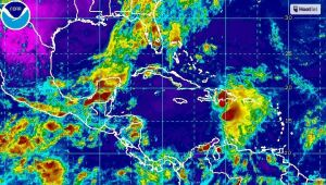 Tormenta tropical Erika viernes