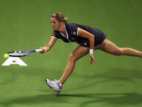 La belga Kim Clijsters volvía esta semana a la competición...