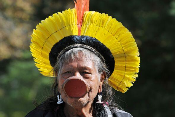 """""""No queremos perder nuestra cultura. El Brasil es nuestro, no se puede a..."""