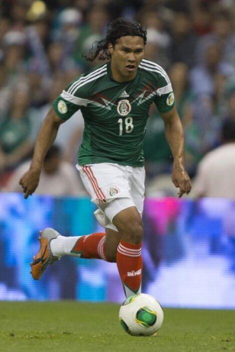 Carlos Peña.- El 'Gulit' tuvo una mala Copa Oro, pero se reivindicó con...