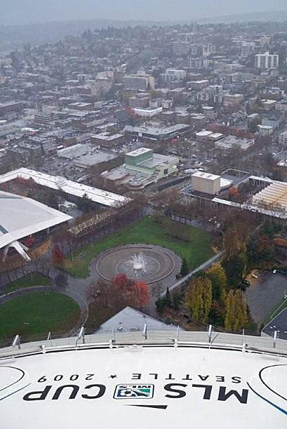 Una vista panorámica de la bella ciudad de Seattle.
