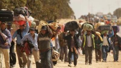 Seif al Islam Gadafi, hijo del dirigente libio, confía en una victoria d...