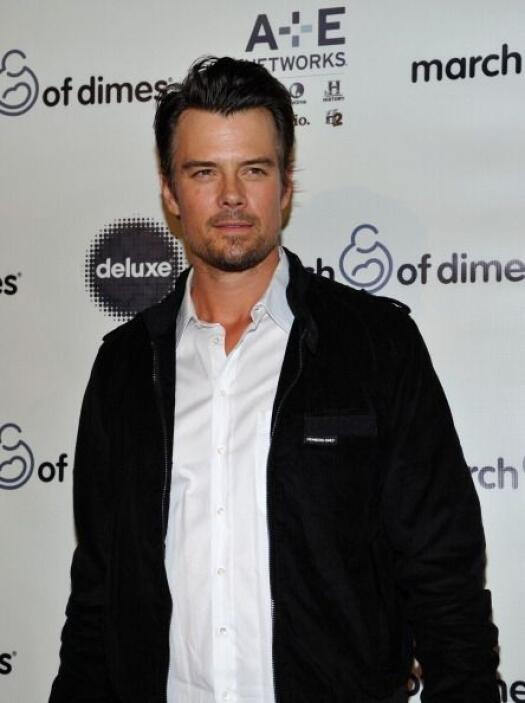 El actor de televisión y cine Josh Duhamel, esposo de la cantante Fergie...