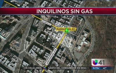 Decenas de inquilinos de Washington Heights se quedan sin gas
