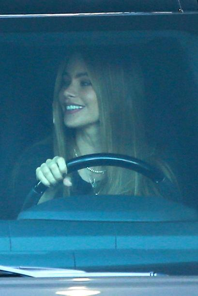 La sonrisa seguía en la cara de Sofía.