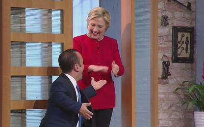 La visita de Hillary Clinton al show dio vuelta al mundo entero