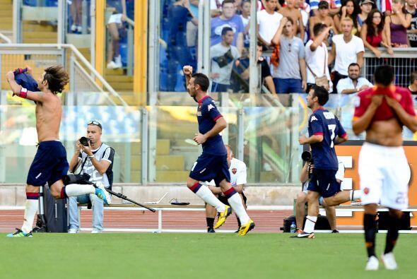 Pero eso no bastó y el Cagliari sacó la victoria al final...