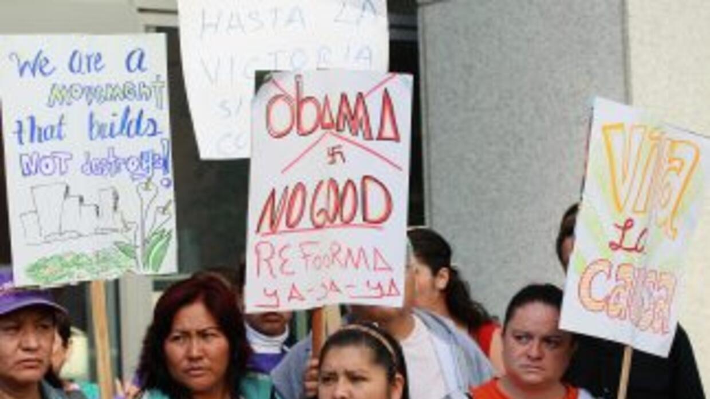 En Estados Univis viven 11 millones de inmigrantes -la mayor'ia latinoam...