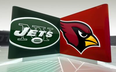 Cardinals arrolló a Jets 28-3