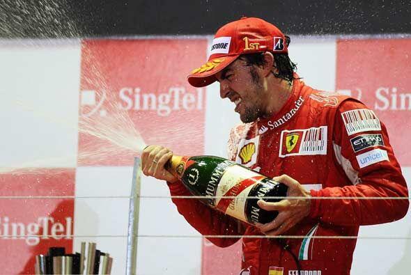 Para Alonso esta fue su tercera victoria de la temporada 2010.