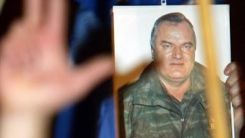 """Ratko Mladic, conocido como el """"carnicero de los Balcanes"""", acudía osten..."""
