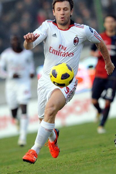 Y se dio la aparición de Cassano con su nuevo club.