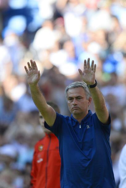 Eso fueron los últimos 90 minutos de José Mourinho en el Real Madrid. Un...