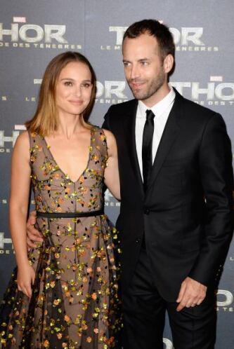 Natalie Portman y Benjamin Millepied se casaron el 4 de agosto del 2012.