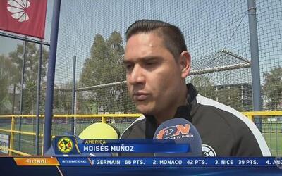 """Moisés Muñoz: """"Trataré de tener buenas actuaciones con América para volv..."""