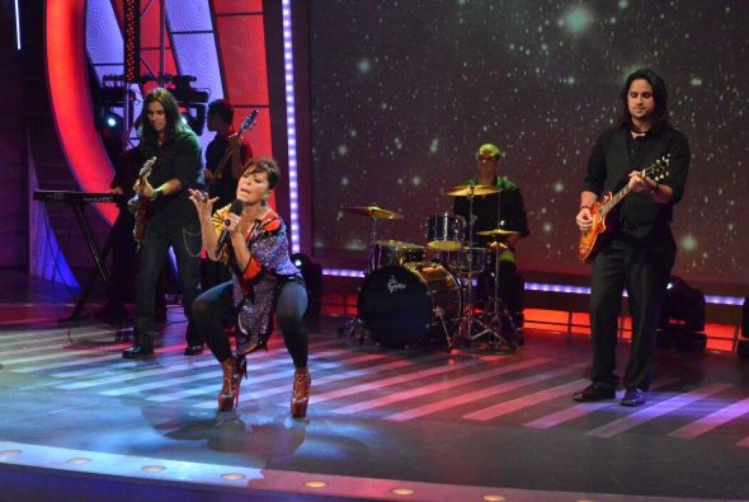'Mi peor error' fue el tema que interpretó la cantante, donde se refleja...