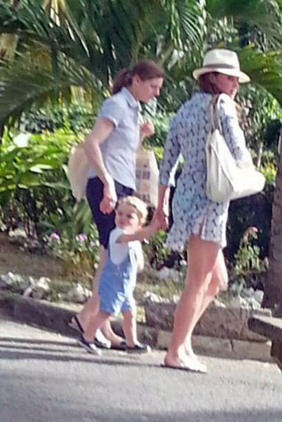 La familia real pasó unas increíbles vacaciones en las playas del Caribe...