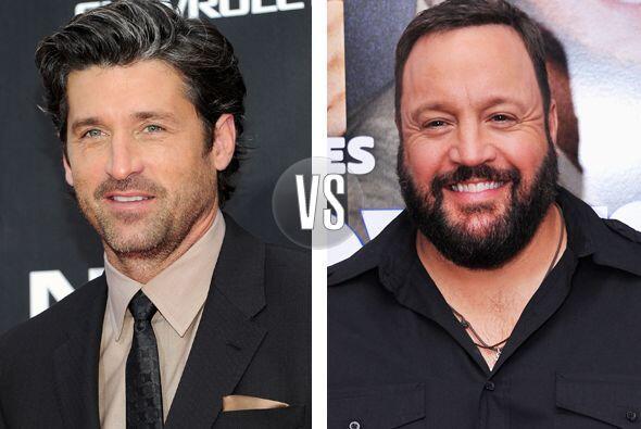 Patrick Dempsey y Kevin James son totalmente diferentes, los dos tienen...