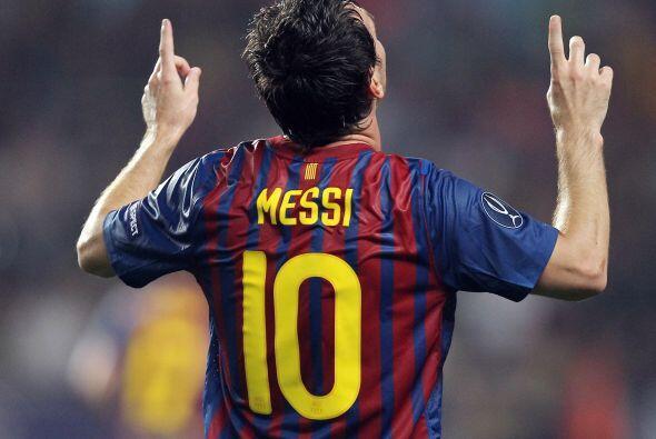 Era el 1 a 0 a favor de los 'culé' y Messi rompía su malef...