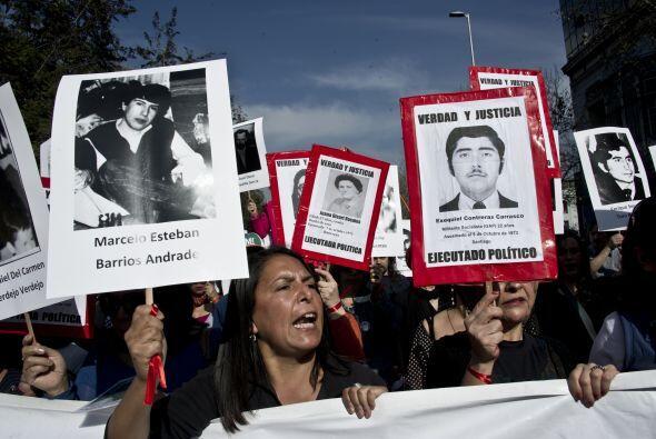 Por su parte, el presidente chileno, Sebastián Piñera, den...