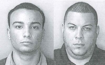 Los taxistas Jadiel Hernández Alberty y Yamil Rivera Navarro fueron impu...