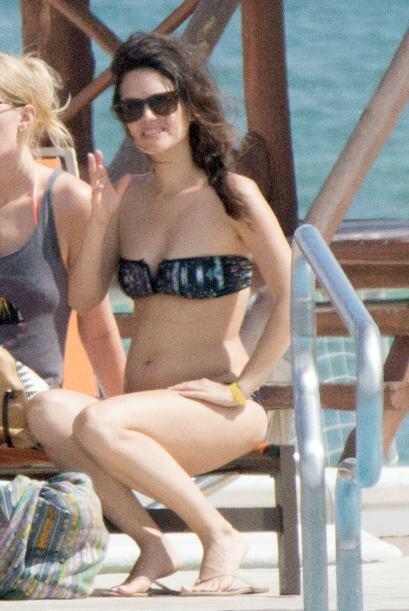 Se nota que Rachel está contentísima por las vacaciones y los tacos, ¡se...
