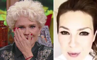 Charytín lloró con el mensaje de Thalía y otros famosos