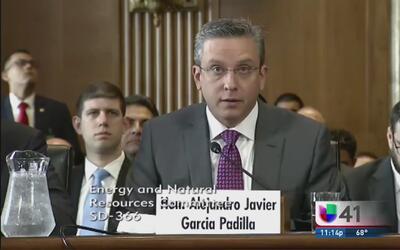 Gobernador de PR presiona al Congreso