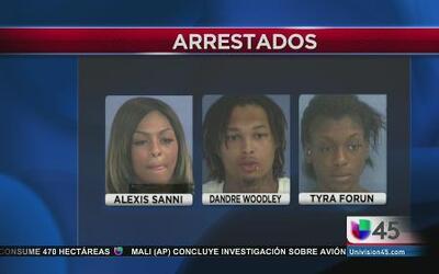 Tres arrestados por prostituir a menores de Houston