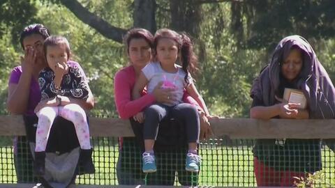 Un grupo de madres interrumpen huelga de hambre en Pennsylvania