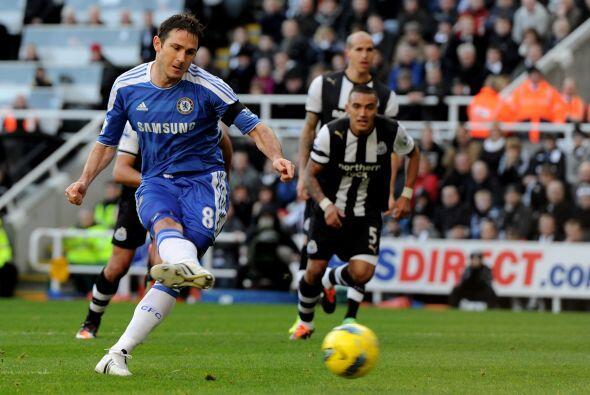 Frank Lampard erró un penalty que pudo haber sido la apertura del...