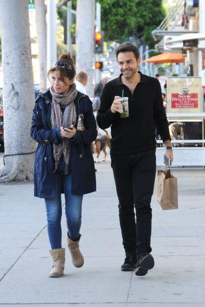 Alessandra y Eugenio estás más que listos para la llegada de su bebé.