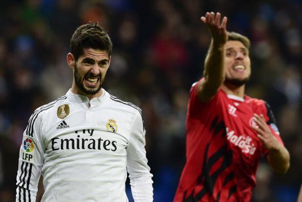 Cerca del final del encuentro el Sevilla descontó el marcador con...