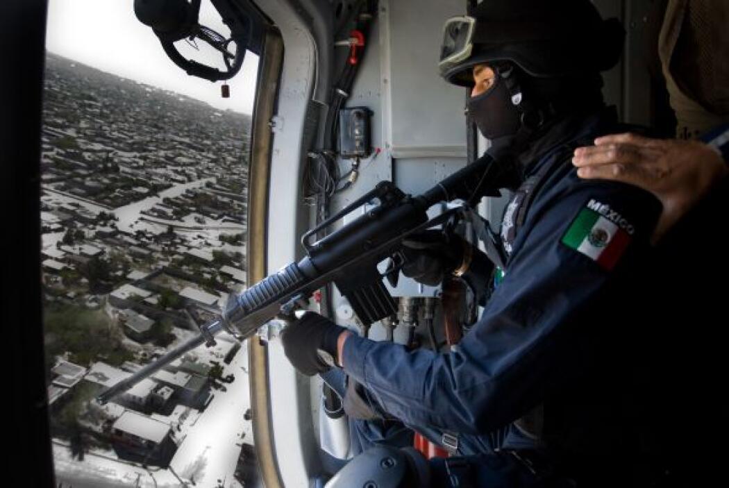 Las fuerzas federales estarán bajo el mando del comandante de la región...