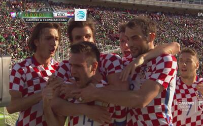 Duje Cop marcó el 1-0 de Croacia sobre México